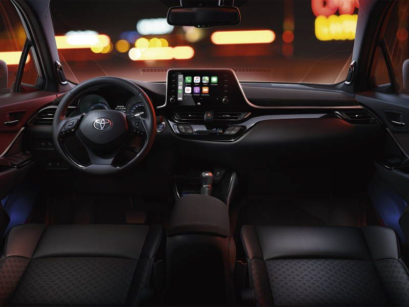 Toyota C-HR Cockpit